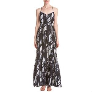 Parker Anna Maxi Dress in Glare (Black Multi)